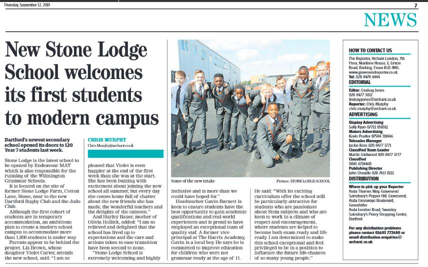Stone lodge publicity