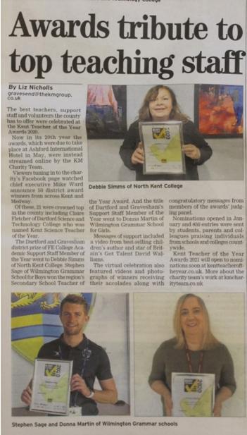 Kent awards